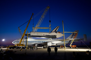 Shuttle Enterprise Is Mated On SCA (201204200001HQ) | by NASA HQ PHOTO