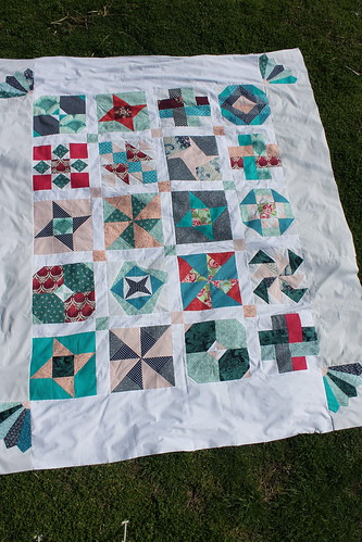 Sew Happy Geek Quilt Along - Top is finished | by DanaK~WaterPenny
