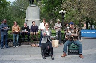 Occupy Wall Street: Waiting for Lefty (still), 04.28.2012 | by triebensee