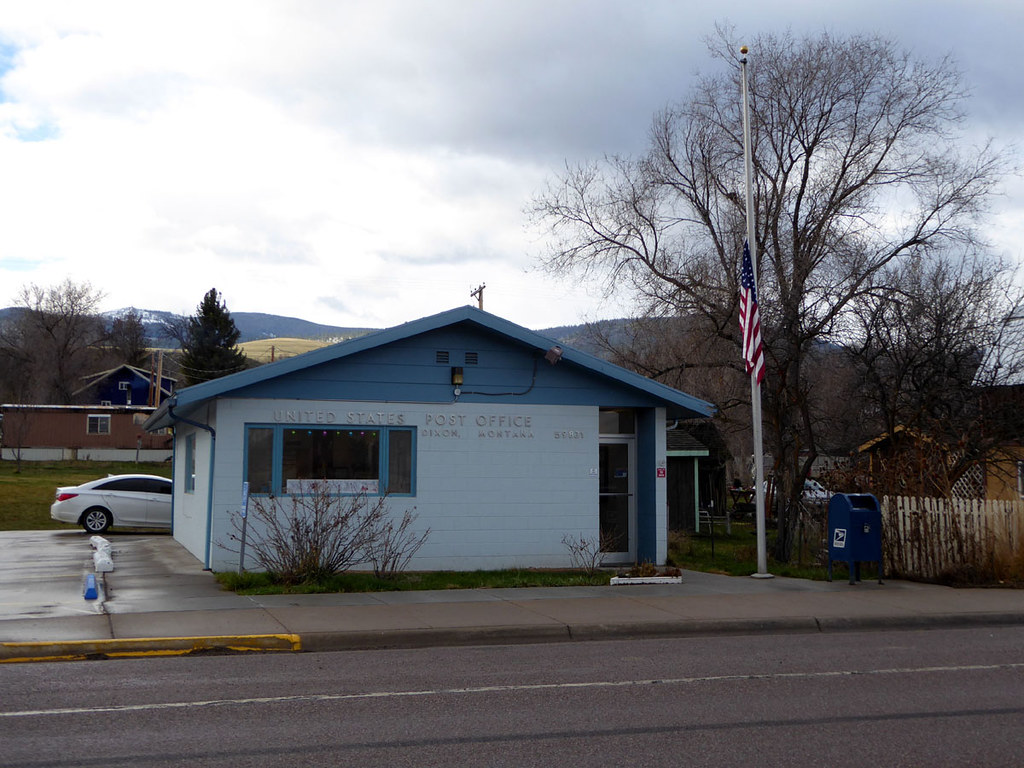 Montana sanders county dixon -  Dixon Montana 59831 By Postmarks From Montana