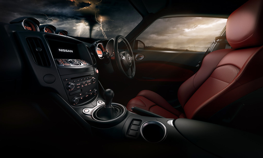 ... Mood Lighting | by Troy Witte Photography & Mood Lighting | Interior Nissan 370Z - Bluefish CGI While itu2026 | Flickr azcodes.com