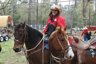 2012 Trail Riders arrive at Memorial Park | by Houston Public Media - News 88.7