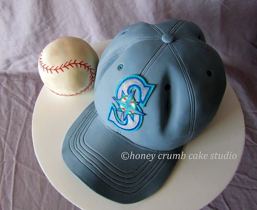 Edible Baseball Cake Decorations