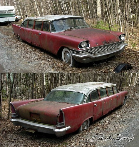 1957 Chrysler New Yorker Airport Limo | by sixty8panther