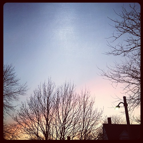 3/26/12 Warm sunset after blustery day, crazy | by rayfamilyfarm