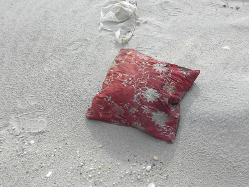 A pillow on the beach | by DanCentury