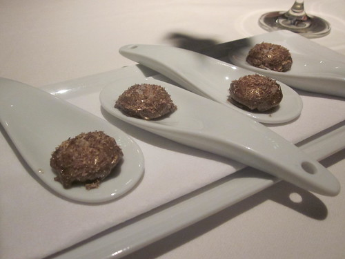 Next/El Bulli - Chicago - February 2012 - Golden Egg | by garyalanfine