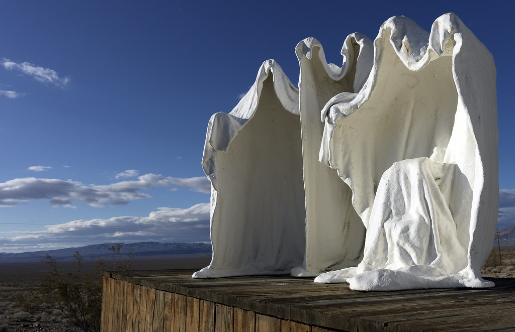 Rhyolite Ghosts, Death Valley 2012