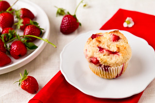 Strawberry Muffins | by TheBrewer&TheBaker
