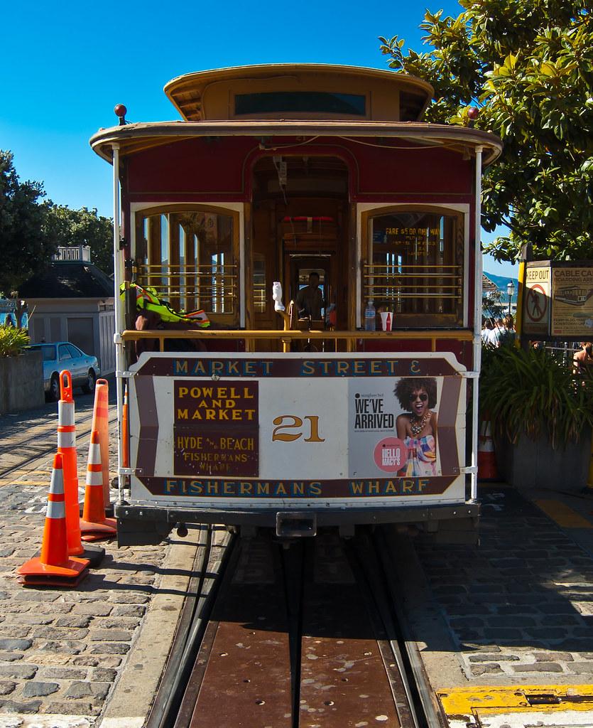 USA / California / San-Francisco / Cable Car 02