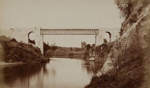 Bridge, Chillán, Concepción and Talcahuano Railway, Chile | by Museum of Photographic Arts Collections