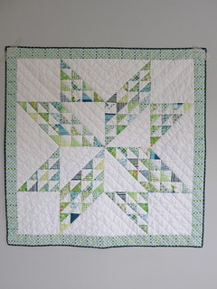 Leftover HSTs Baby Quilt | by phr0gg