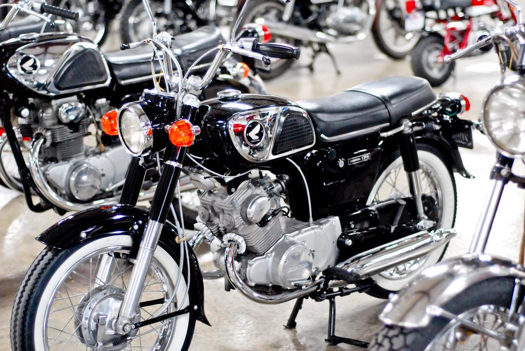 1968 honda cd 175, european & japanese motorcycle show, sa… | flickr