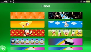 PlayStation Vita PSN Panel Menu | by PlayStation.Blog