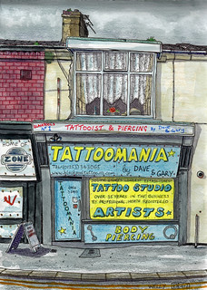tattoomania, blackpool | by Junkfoodveggie
