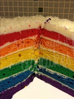 Rainbow cake!! | by All you need is Cupcakes!
