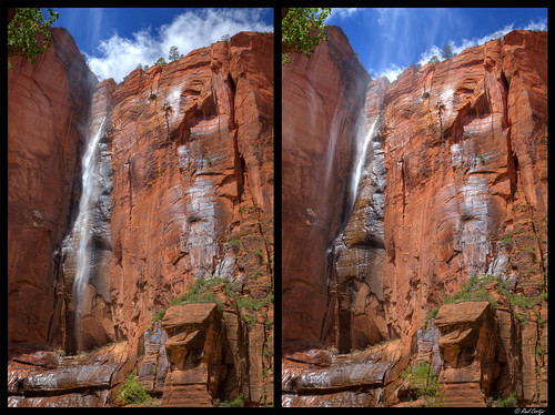 Zion National Park - Disappearing Waterfall | by Raul Cortijo