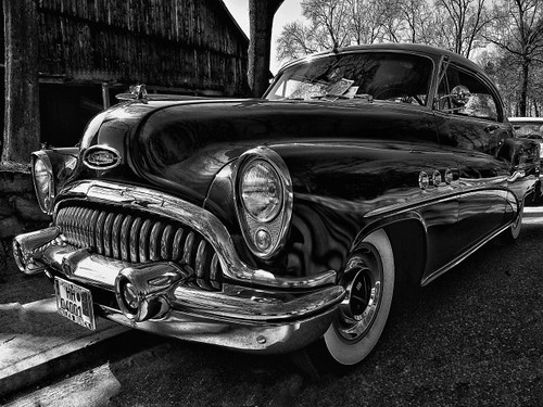 The old car - A Buick | by Pana53