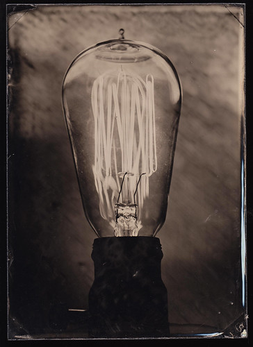 Lightbulb Ambrotype - 1 | by BlakeWylie