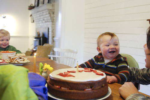 lachlan turns one | by sew liberated