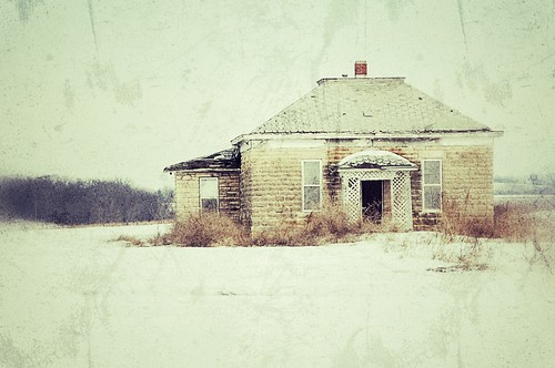 The Old House And Snow | by pam's pics-
