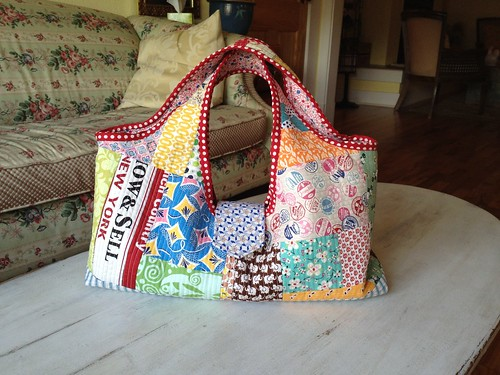 Patchwork bag | by tinkerfrog