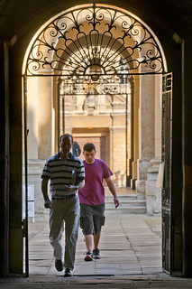 UK - Oxford - Bodleian Library - Entrance archway | by Darrell Godliman