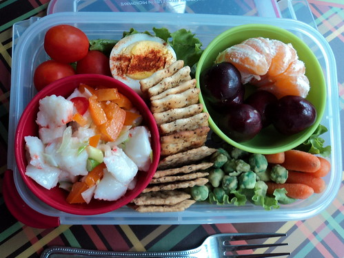 Seafood Salad Bento Lunch | by Sophie Hawke