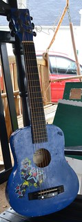 Week 12 Blue Guitar for a 3 yr old who likes to rock out | by Jemjoop Blythe/BJD