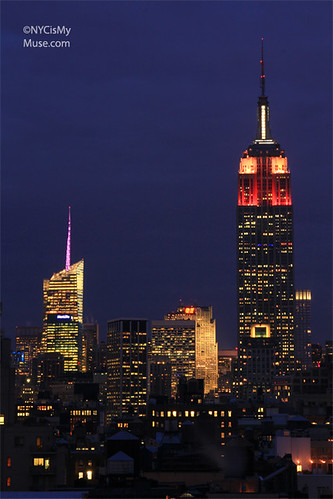 Empire State Building Love-ly in Valentine's Day Red Pink and White | by NYCisMyMuse