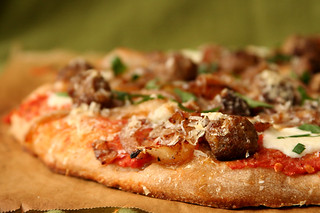 lamb meatball pizza 3 | by crumblycookie