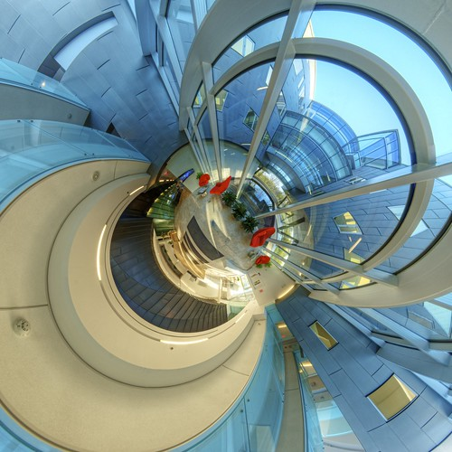Perimeter Institute Entrance Little Planet | by etherflyer