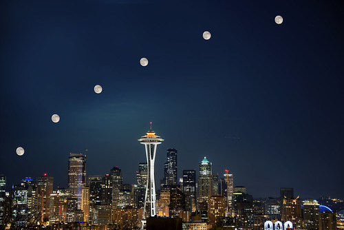 Seattle Super Moon | by Dave Morrow Photography