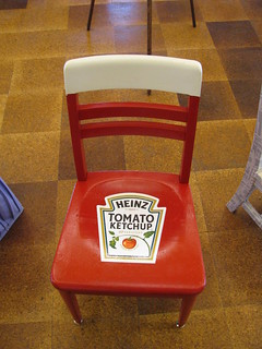 Ketchup Chair | by AlwaysInspired