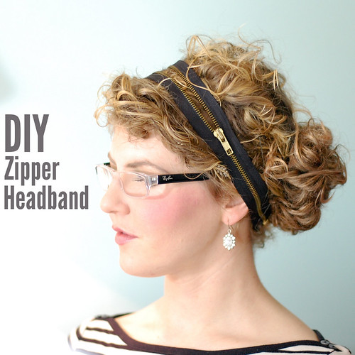 DIY Zipper Headband | by Stacie Stacie Stacie