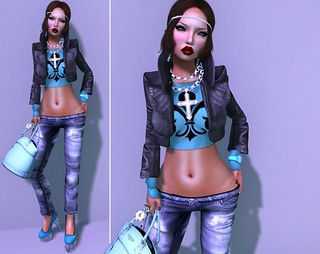 My Teal Look ! | by MiaEmlyn Mayflower ♥ Fashion Slave in SL