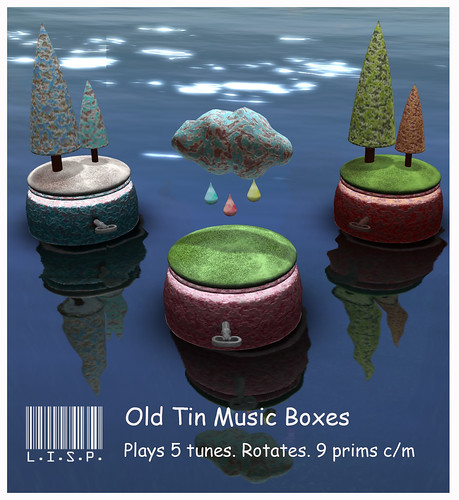 Rusty Tin Music Boxes | by Pandora Popstar/Lainy Voom