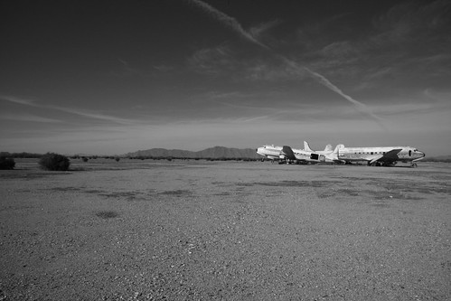 Chandler Memorial Airfield, Arizona | by flyingaxel