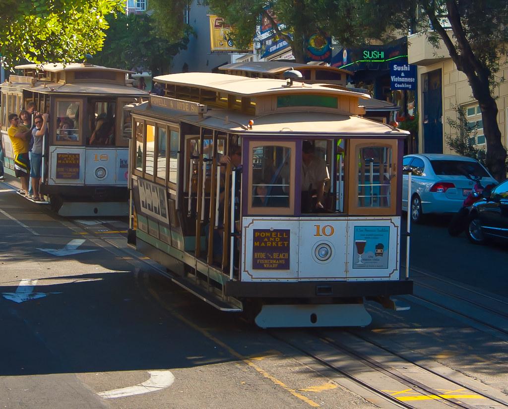 USA / California / San-Francisco / Cable Car 01