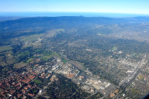 Birdeye view: Silicon Valley | by Y. Peter Li Photography