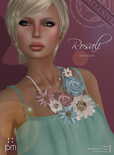 Rosali Necklace @ TBB - NEW! | by http://www.purplemoonsl.com