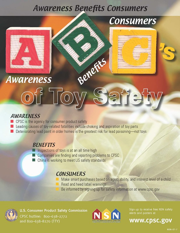 ABC's of Toy Safety