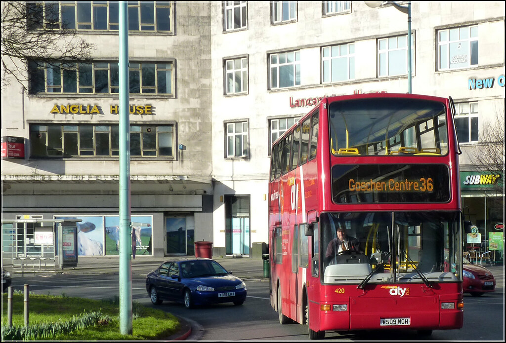 Plymouth Citybus 420 W509WGH