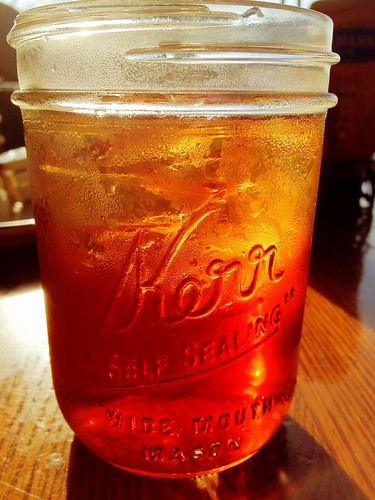 Iced Tea In A Mason Jar At Callaway Gardens Country Store Flickr