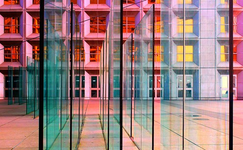 Glass panels and colourful windows | by Hopeisland