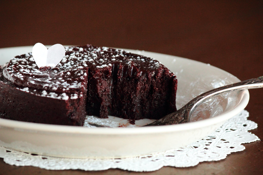 flourless chocolate rum cake by pastryaffair