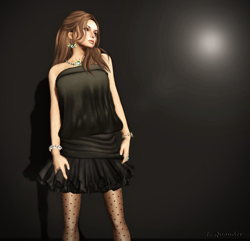 FFL Baiastice_Shole dress dark | by Lila Quander