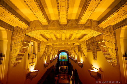 PHOTO - Tonight in Vancouver: Mayan Art Deco Ceiling inside the Marine Building | by [Rikki] Julius Reque
