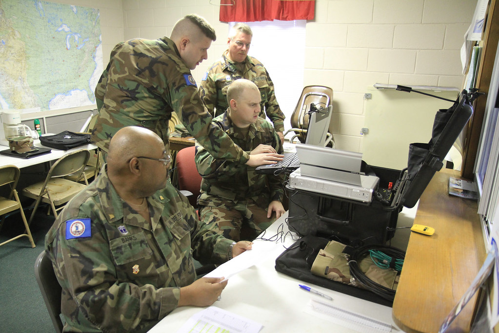 Virginia Defense Force : Virginia defense force supports reception exercise test at