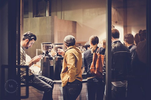Preview Event at Handsome Coffee Roasters, Downtown Los Angeles, Arts District | by r.e. ~
